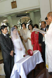 link of pictures of the marital vows ceremony